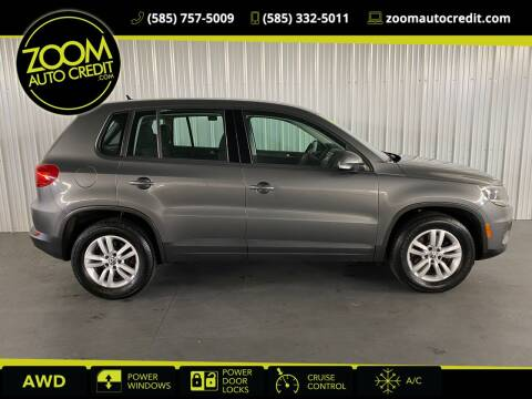 2014 Volkswagen Tiguan for sale at ZoomAutoCredit.com in Elba NY