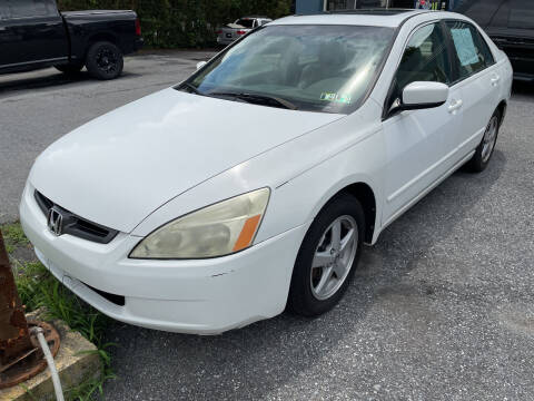 2003 Honda Accord for sale at Kars on King Auto Center in Lancaster PA