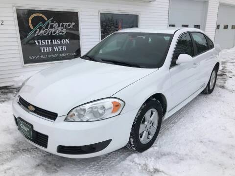 2010 Chevrolet Impala for sale at HILLTOP MOTORS INC in Caribou ME