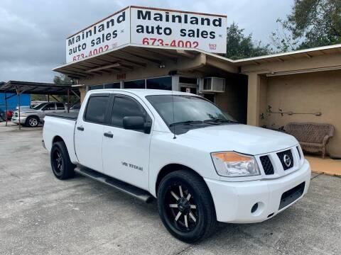 2007 Nissan Titan for sale at Mainland Auto Sales Inc in Daytona Beach FL