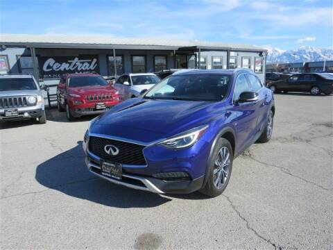 2017 Infiniti QX30 for sale at Central Auto in South Salt Lake UT