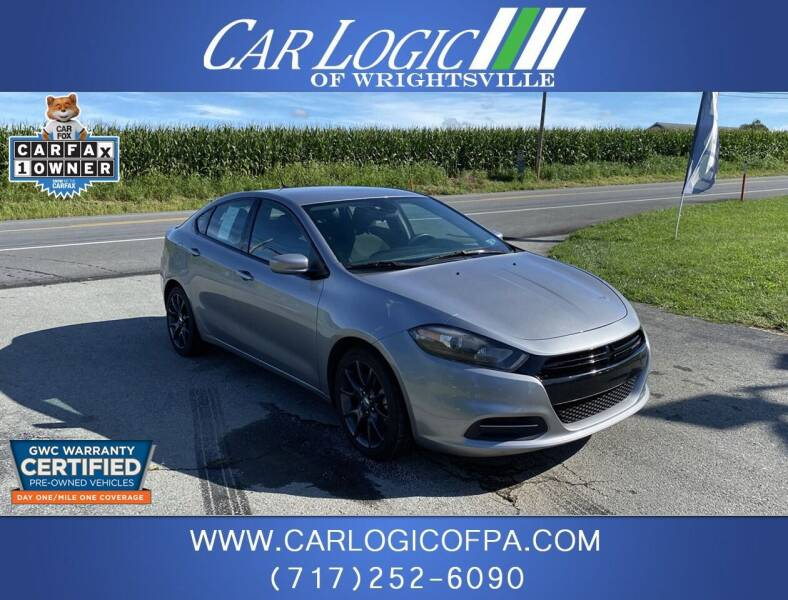 2016 Dodge Dart for sale at Car Logic in Wrightsville PA