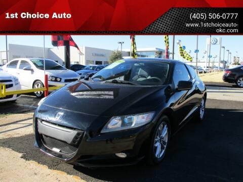 2012 Honda CR-Z for sale at 1st Choice Auto L.L.C in Oklahoma City OK