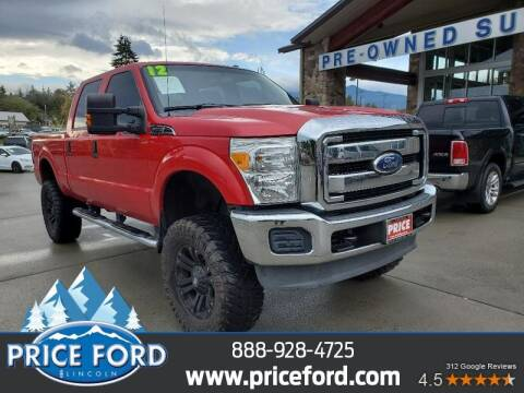 2012 Ford F-250 Super Duty for sale at Price Ford Lincoln in Port Angeles WA