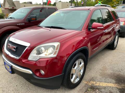 2008 GMC Acadia for sale at 5 Stars Auto Service and Sales in Chicago IL