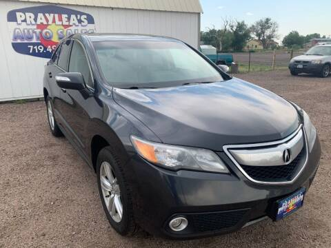 2015 Acura RDX for sale at Praylea's Auto Sales in Peyton CO