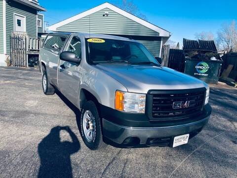 2008 GMC Sierra 1500 for sale at SHEFFIELD MOTORS INC in Kenosha WI