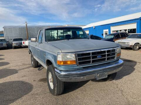 1992 Ford F-250 for sale at AFFORDABLY PRICED CARS LLC in Mountain Home ID