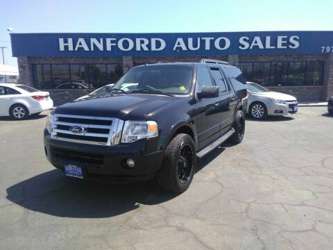 2013 Ford Expedition EL for sale at Hanford Auto Sales in Hanford CA