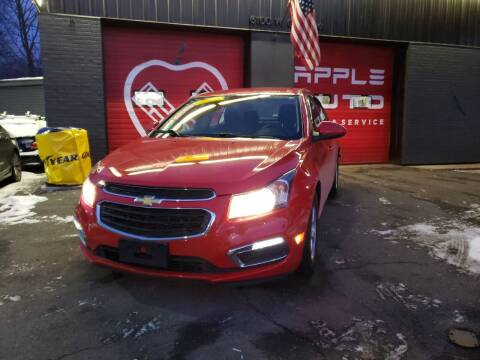 2015 Chevrolet Cruze for sale at Apple Auto Sales Inc in Camillus NY