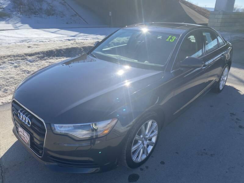 2013 Audi A6 for sale at Apple Auto in La Crescent MN