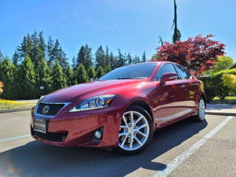 2012 Lexus IS 350 for sale at Silver Star Auto in Lynnwood WA