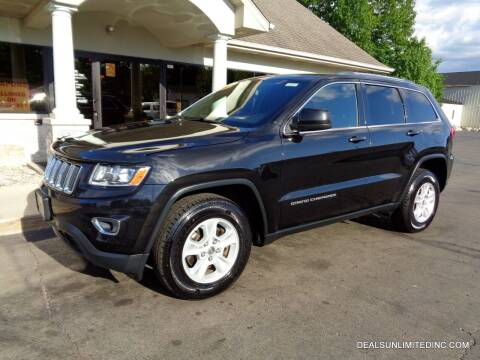 2014 Jeep Grand Cherokee for sale at DEALS UNLIMITED INC in Portage MI
