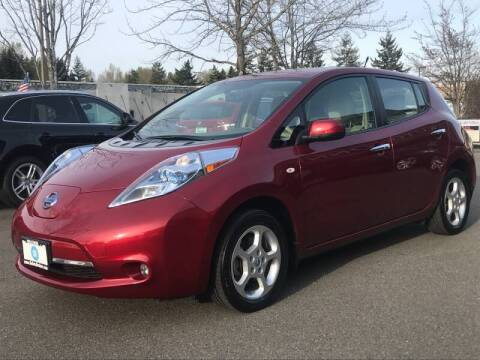 2012 Nissan LEAF for sale at GO AUTO BROKERS in Bellevue WA