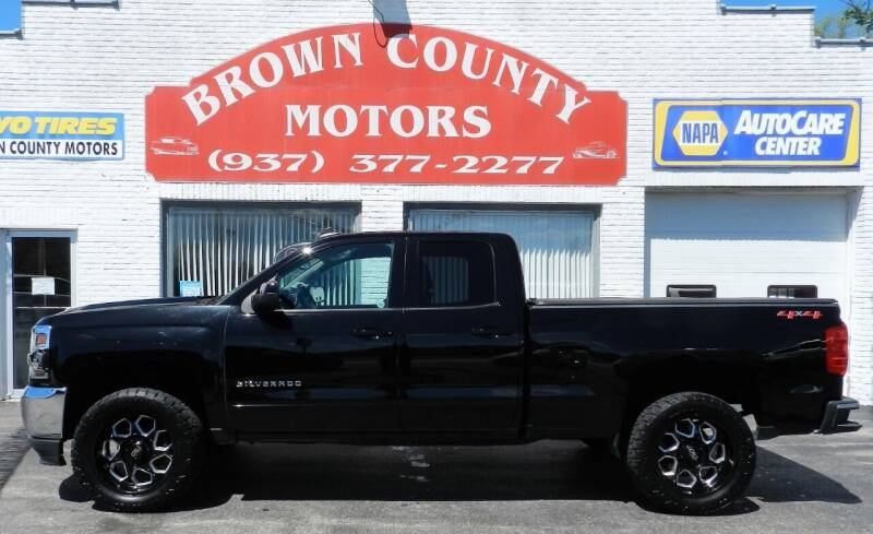 2019 Chevrolet Silverado 1500 LD for sale at Brown County Motors in Russellville OH