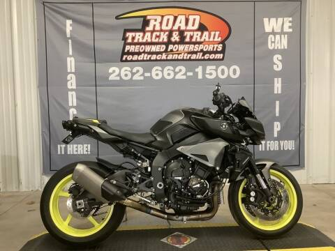 2018 Yamaha MT-10 for sale at Road Track and Trail in Big Bend WI