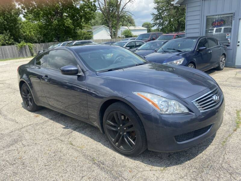 2010 Infiniti G37 Coupe for sale at Stiener Automotive Group in Galloway OH