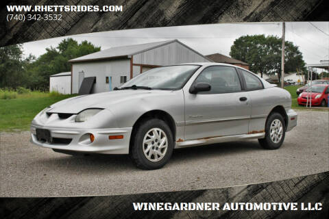 2002 Pontiac Sunfire for sale at WINEGARDNER AUTOMOTIVE LLC in New Lexington OH