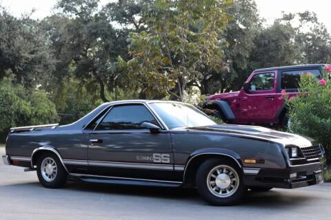 1986 Chevrolet El Camino for sale at SELECT JEEPS INC in League City TX