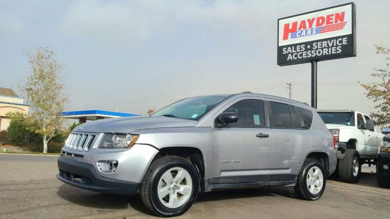 2016 Jeep Compass for sale at Hayden Cars in Coeur D Alene ID