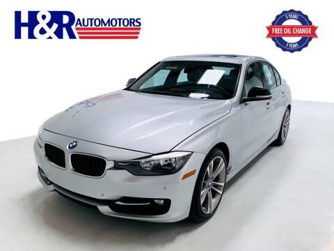 2015 BMW 3 Series for sale at H&R Auto Motors in San Antonio TX