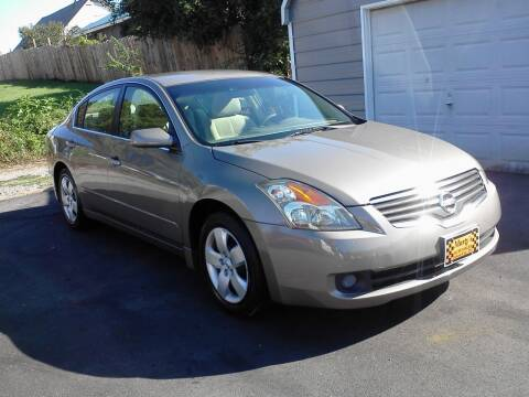 2008 Nissan Altima for sale at Marty's Auto Sales in Lenoir City TN