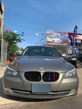 2009 BMW 5 Series for sale at Simon Auto Group in Newark NJ