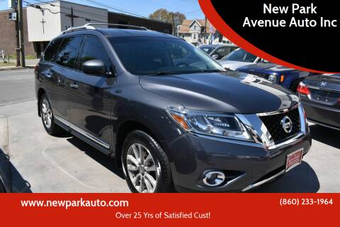 2014 Nissan Pathfinder for sale at New Park Avenue Auto Inc in Hartford CT