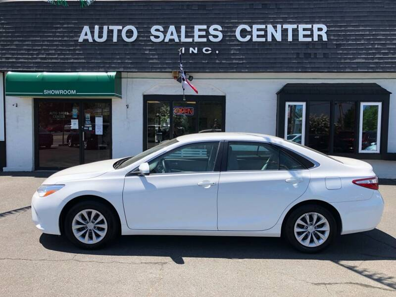 2017 Toyota Camry for sale at Auto Sales Center Inc in Holyoke MA