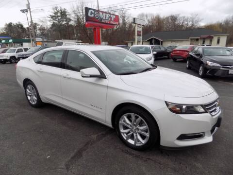 2018 Chevrolet Impala for sale at Comet Auto Sales in Manchester NH