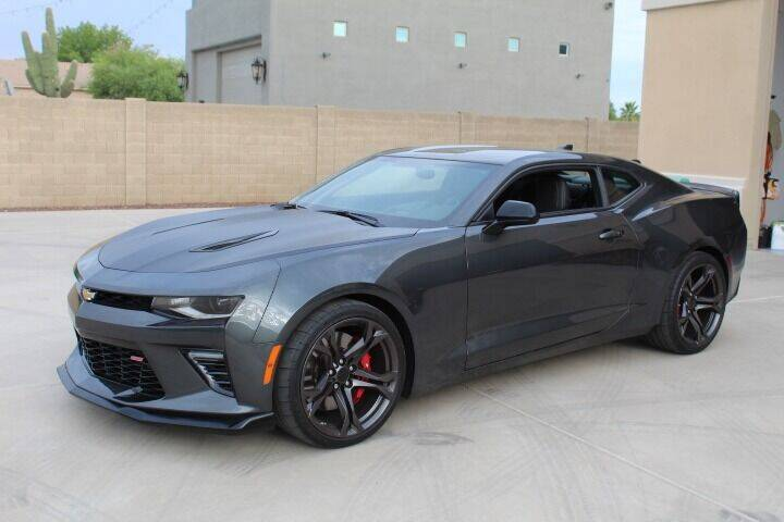 2018 Chevrolet Camaro for sale at CLASSIC SPORTS & TRUCKS in Peoria AZ