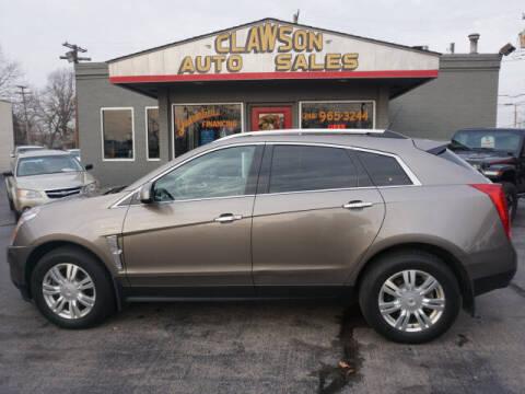 2012 Cadillac SRX for sale at Clawson Auto Sales in Clawson MI