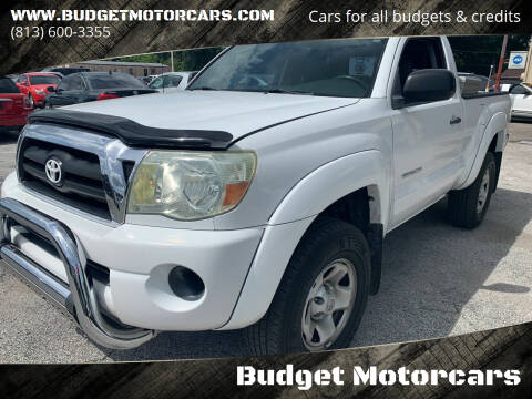 2005 Toyota Tacoma for sale at Budget Motorcars in Tampa FL