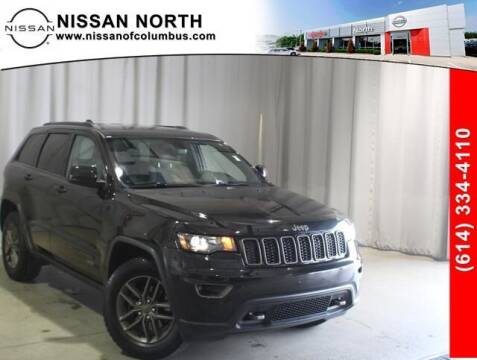 2016 Jeep Grand Cherokee for sale at Auto Center of Columbus in Columbus OH
