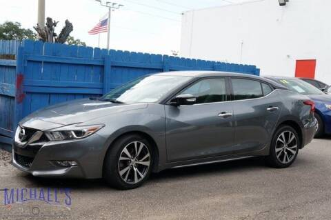 2016 Nissan Maxima for sale at Michael's Auto Sales Corp in Hollywood FL