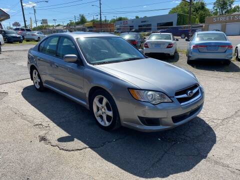 2008 Subaru Legacy for sale at Green Ride Inc in Nashville TN
