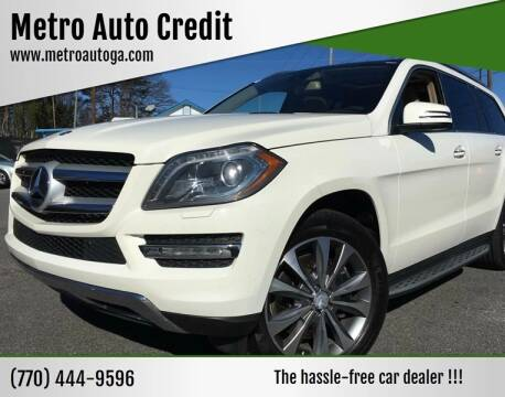 2013 Mercedes-Benz GL-Class for sale at Used Imports Auto - Metro Auto Credit in Smyrna GA