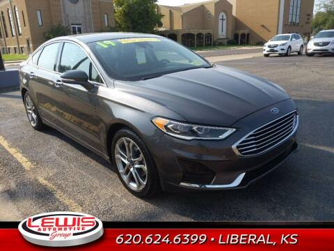 2019 Ford Fusion for sale at Lewis Chevrolet Buick Cadillac of Liberal in Liberal KS