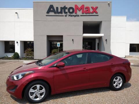 2015 Hyundai Elantra for sale at AutoMax of Memphis - Darrell James in Memphis TN