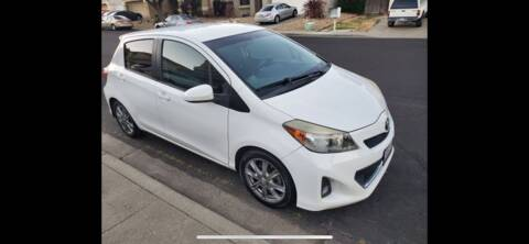 2012 Toyota Yaris for sale at Quintero's Auto Sales in Vacaville CA