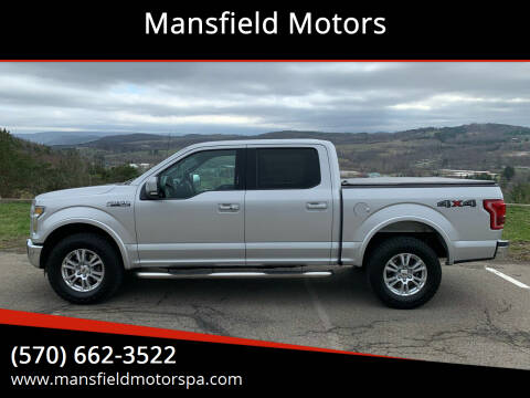 2016 Ford F-150 for sale at Mansfield Motors in Mansfield PA