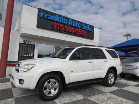 2008 Toyota 4Runner for sale at Franklin Auto Sales in El Paso TX