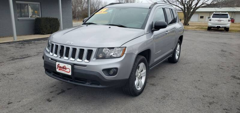2016 Jeep Compass for sale at Jacks Auto Sales in Mountain Home AR