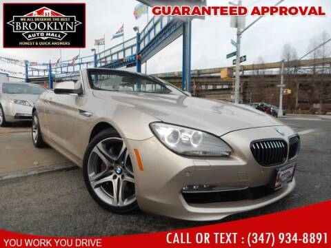 2012 BMW 6 Series for sale at Excellence Auto Trade 1 Corp in Brooklyn NY