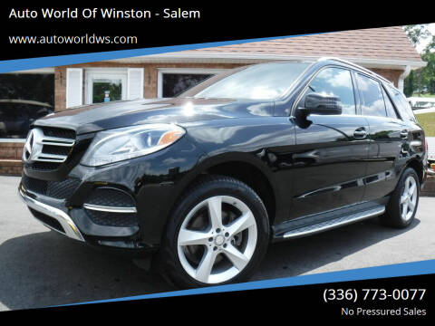 2016 Mercedes-Benz GLE for sale at Auto World Of Winston - Salem in Winston Salem NC