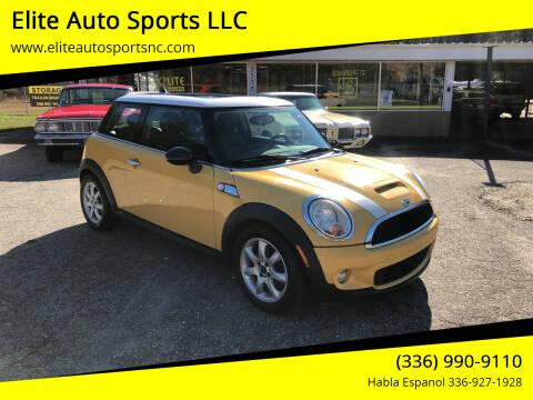 2009 MINI Cooper for sale at Elite Auto Sports LLC in Wilkesboro NC