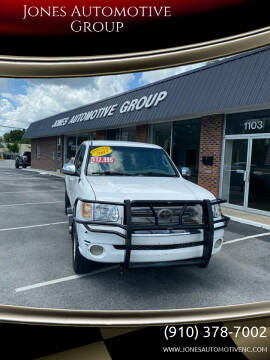 2005 Toyota Tundra for sale at Jones Automotive Group in Jacksonville NC