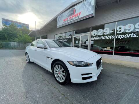 2019 Jaguar XE for sale at NO LIMIT MOTORSPORTS in Belmont NC