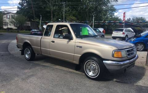 1996 Ford Ranger for sale at Antique Motors in Plymouth IN