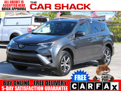 2017 Toyota RAV4 for sale at The Car Shack in Hialeah FL